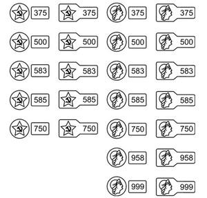 750 проба золота и серебра, что значит такая проба и каковы ее ... bea0d71b1b3