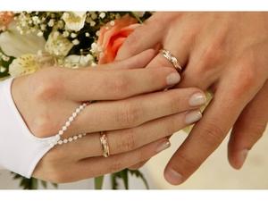 На каком пальце девушки носят обручальное кольцо