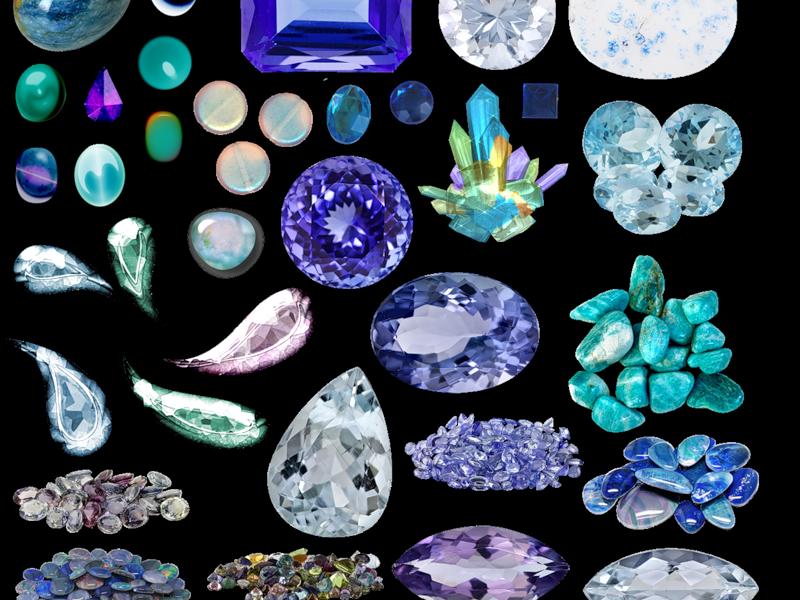 Полудрагоценные и драгоценные камни: описание, фото