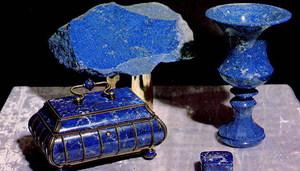 Красивые изделия из ляпис-лазурита
